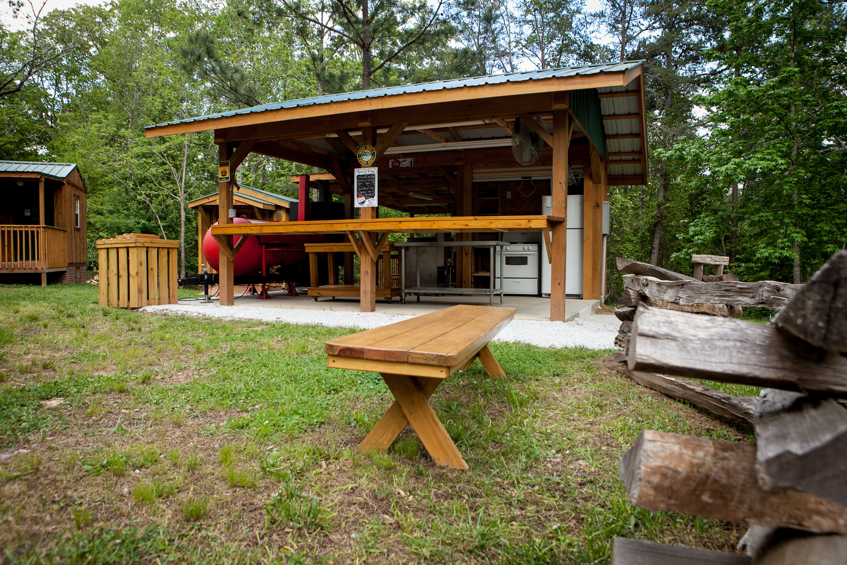 Chattooga Sounds Fully-Equipped Kitchen