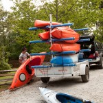 Chattooga Sounds Camp Kayaks